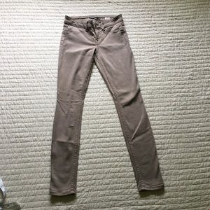 Level 99 Taupe Skinny Jeans